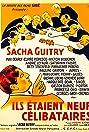 Nine Bachelors (1939) Poster