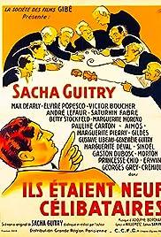 Nine Bachelors Poster