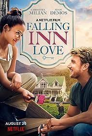 Christina Milian and Adam Demos in Falling Inn Love (2019)
