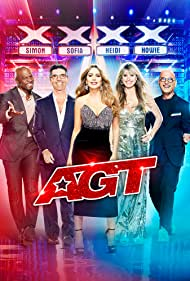 Heidi Klum, Howie Mandel, Sofía Vergara, Terry Crews, and Simon Cowell in America's Got Talent (2006)