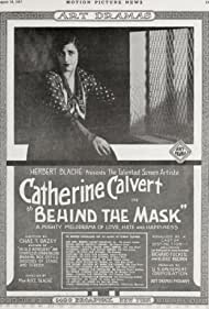 Catherine Calvert in Behind the Mask (1917)
