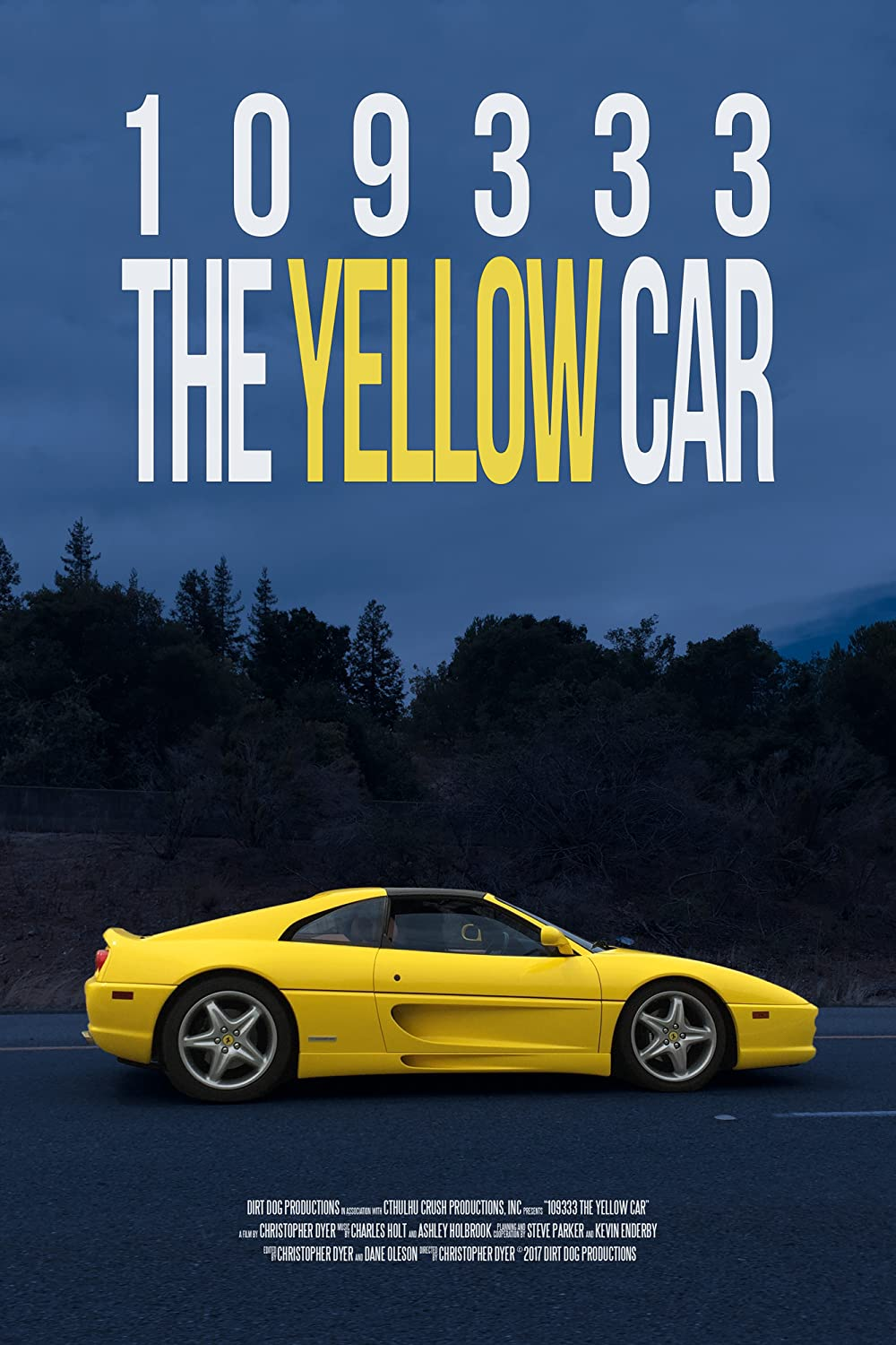 109333 the Yellow Car 2017