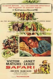 Safari (1956) Poster - Movie Forum, Cast, Reviews