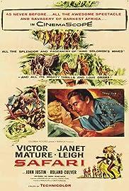 Safari(1956) Poster - Movie Forum, Cast, Reviews