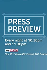 Primary photo for Sky News: Press Preview