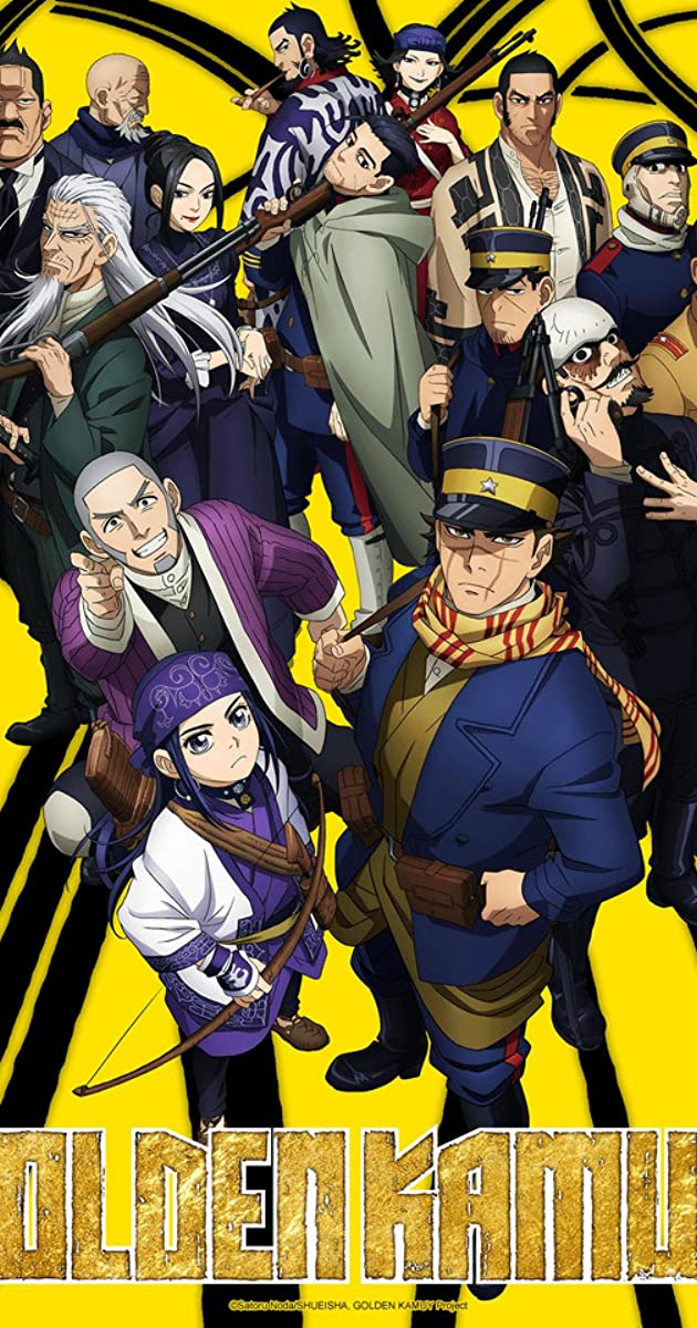 Download Golden Kamuy or watch streaming online complete episodes of  Season 2 in HD 720p 1080p using torrent