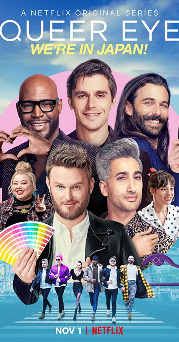 Download Queer Eye: We're in Japan! or watch streaming online complete episodes of  Season 1 in HD 720p 1080p using torrent