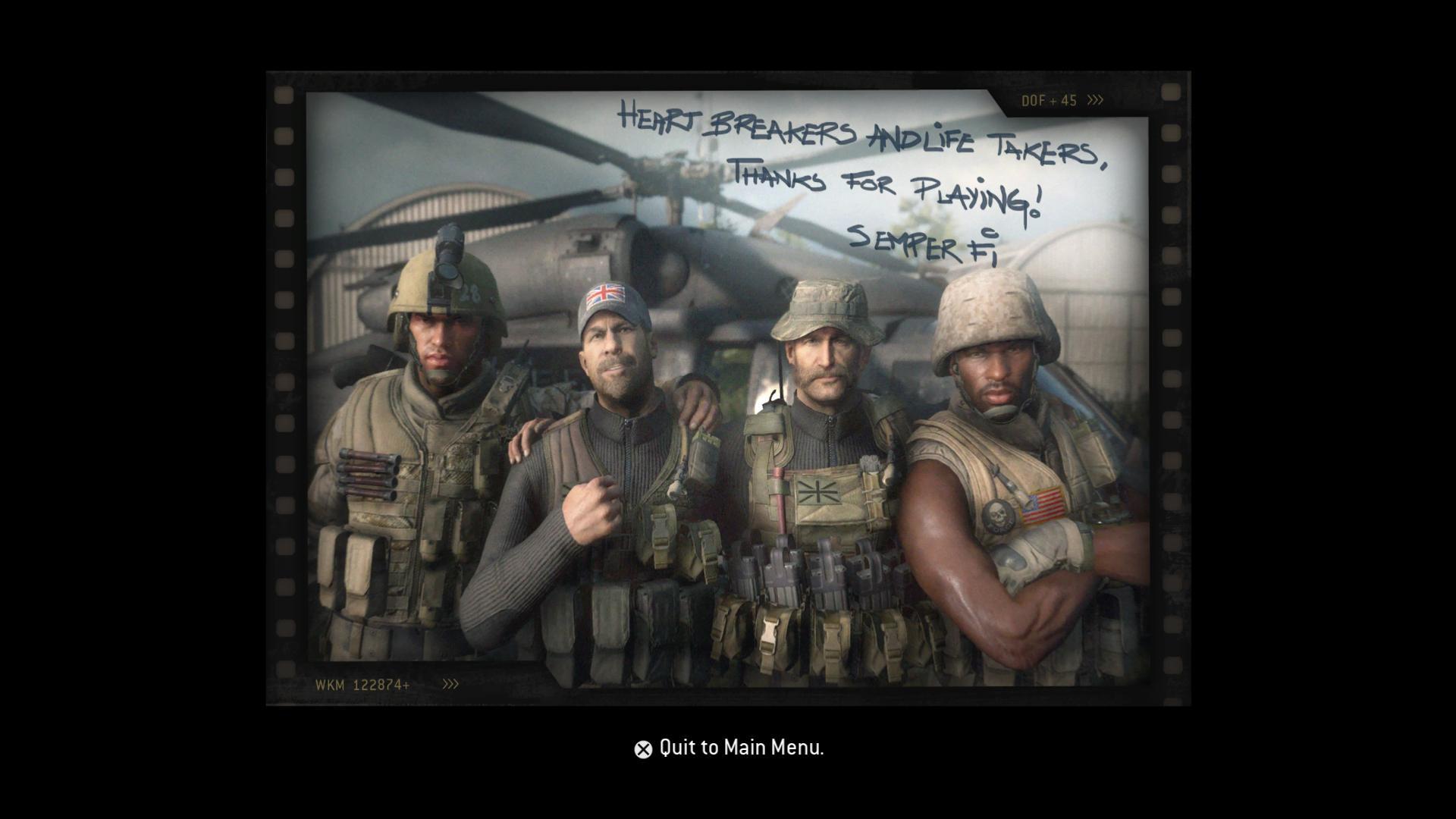 Craig Fairbrass, Billy Murray, David Sobolov, and Mark Grigsby in Call of Duty: Modern Warfare Remastered (2016)