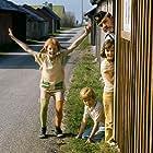 Inger Nilsson, Maria Persson, Benno Sterzenbach, and Pär Sundberg in På rymmen med Pippi Långstrump (1970)