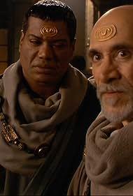 Tony Amendola and Christopher Judge in Stargate SG-1 (1997)