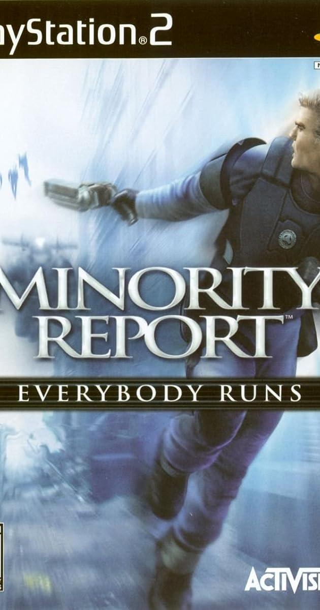 Minority Report Video Game 2002 Imdb