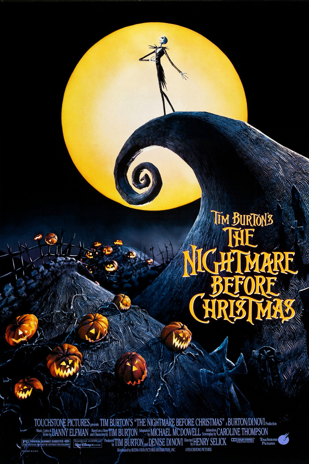 Billedresultat for nightmare before christmas