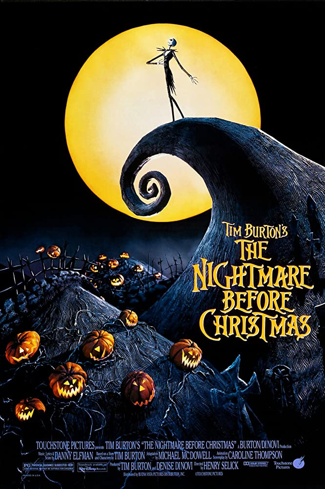Danny Elfman and Chris Sarandon in The Nightmare Before Christmas (1993)