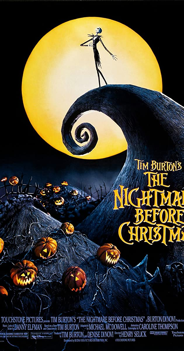 Tim Burton Nightmare Before Christmas Jack And Sally.The Nightmare Before Christmas 1993 Imdb