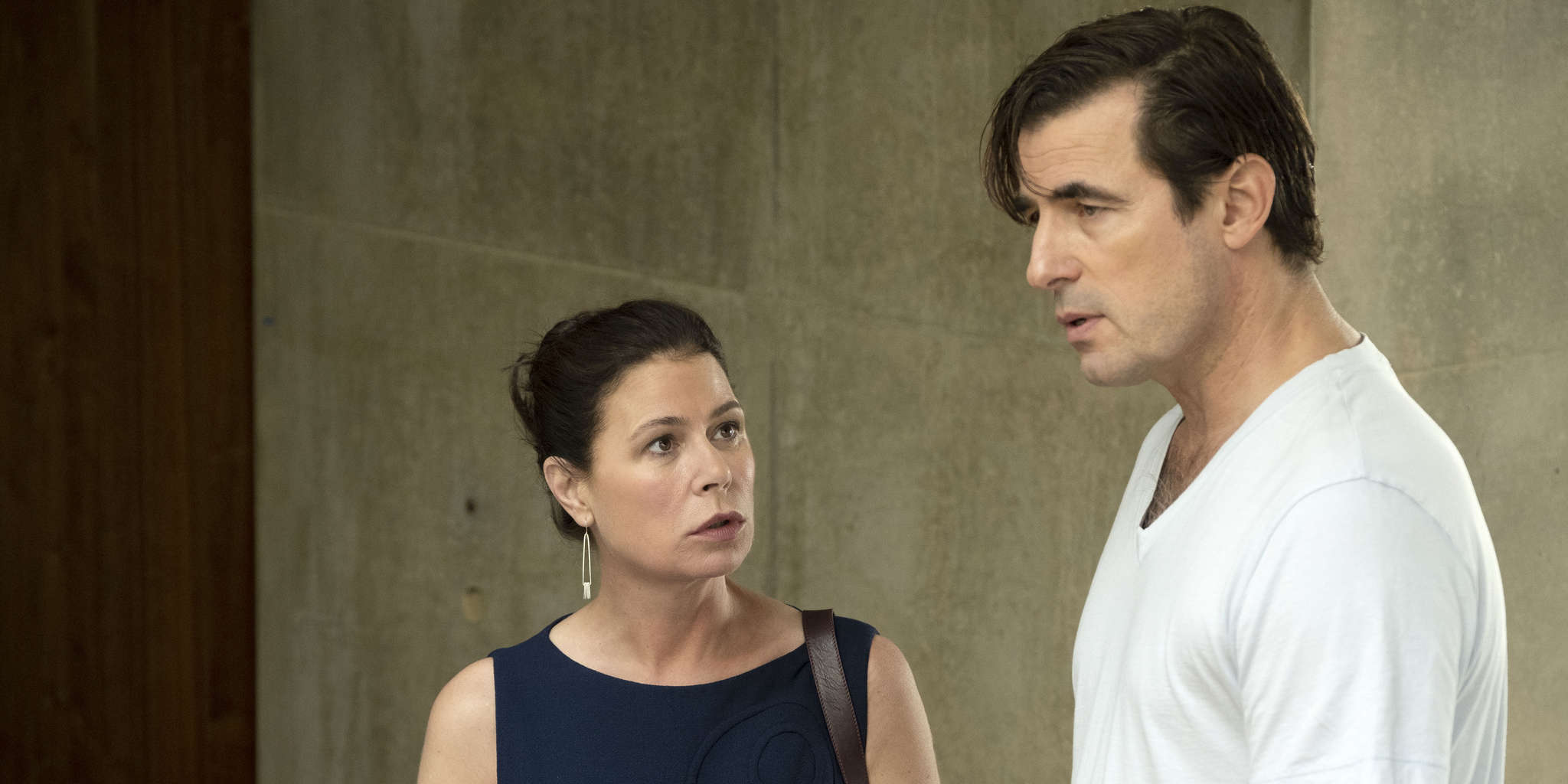 Maura Tierney and Claes Bang in The Affair (2014)