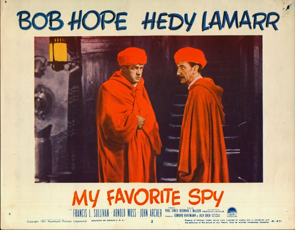 My Favorite Spy (1951) - IMDb