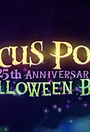 The Hocus Pocus 25th Anniversary Halloween Bash Poster