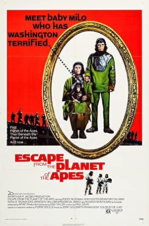 Escape from the Planet of the Apes Poster Image