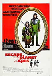 Escape from the Planet of the Apes (1971) Poster - Movie Forum, Cast, Reviews