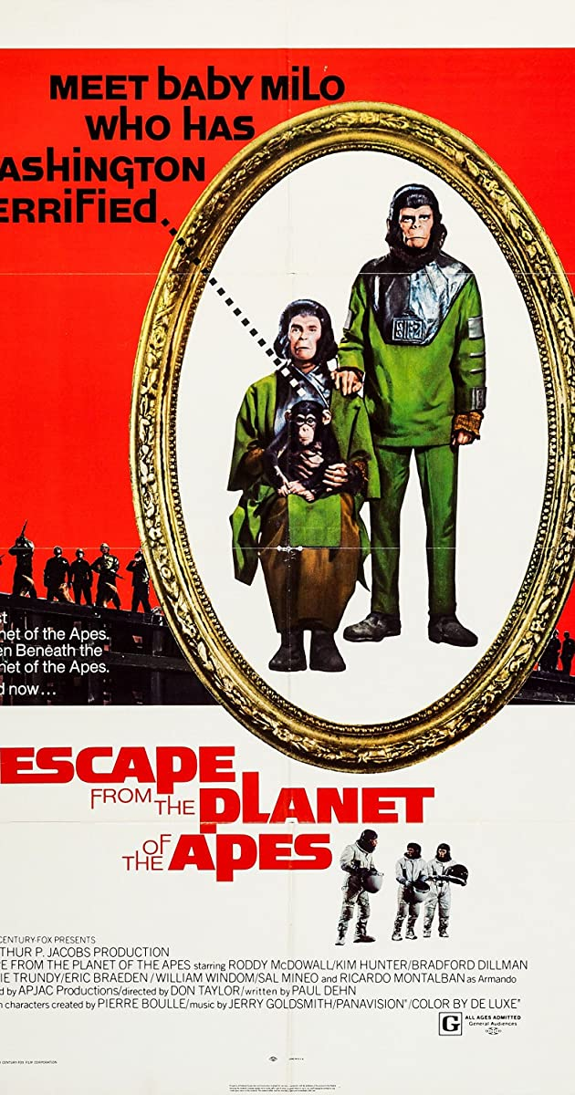 Subtitle of Escape from the Planet of the Apes