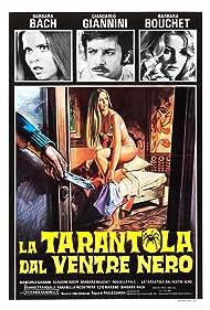 Barbara Bach, Barbara Bouchet, and Giancarlo Giannini in La tarantola dal ventre nero (1971)