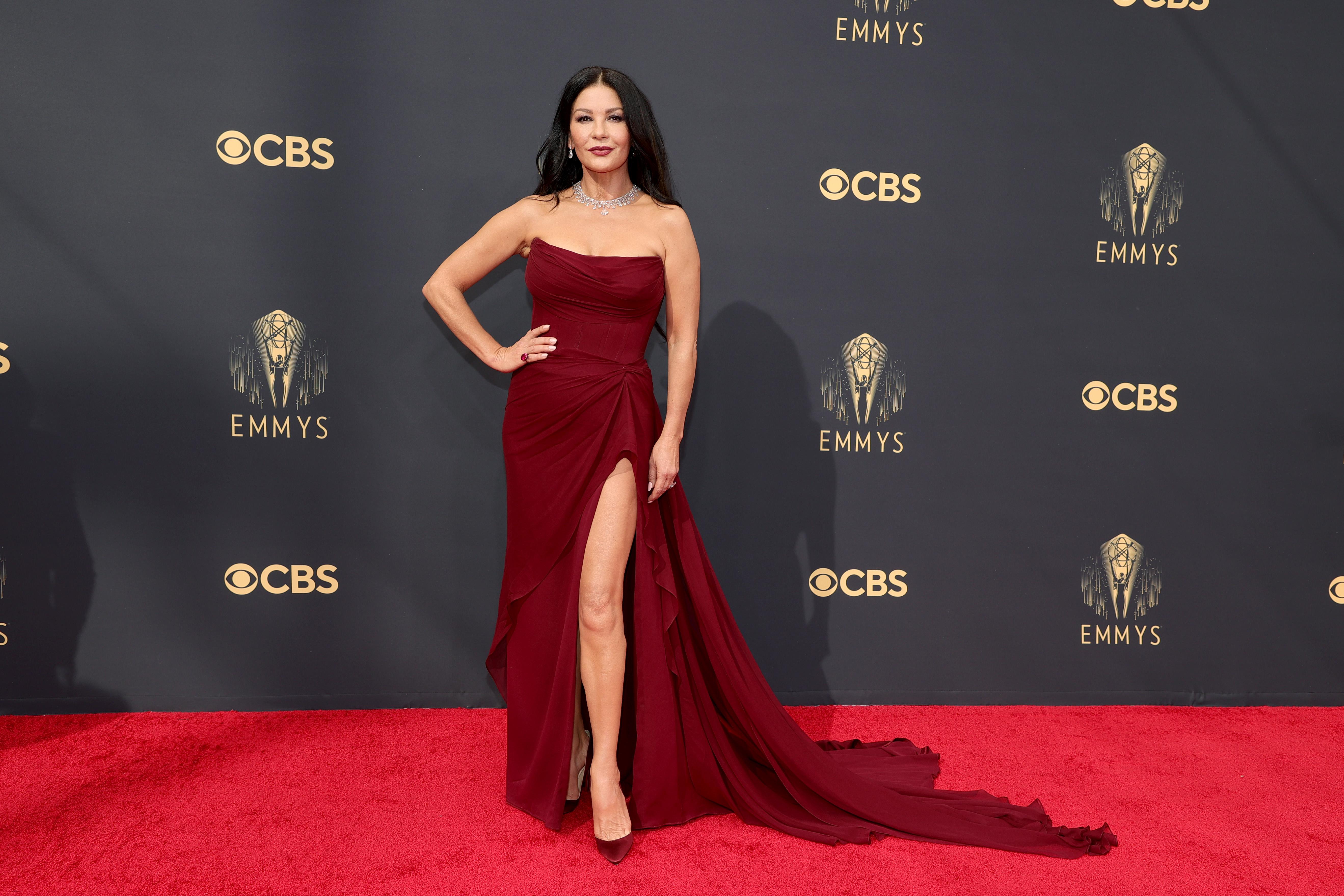 Catherine Zeta-Jones at an event for The 73rd Primetime Emmy Awards (2021)