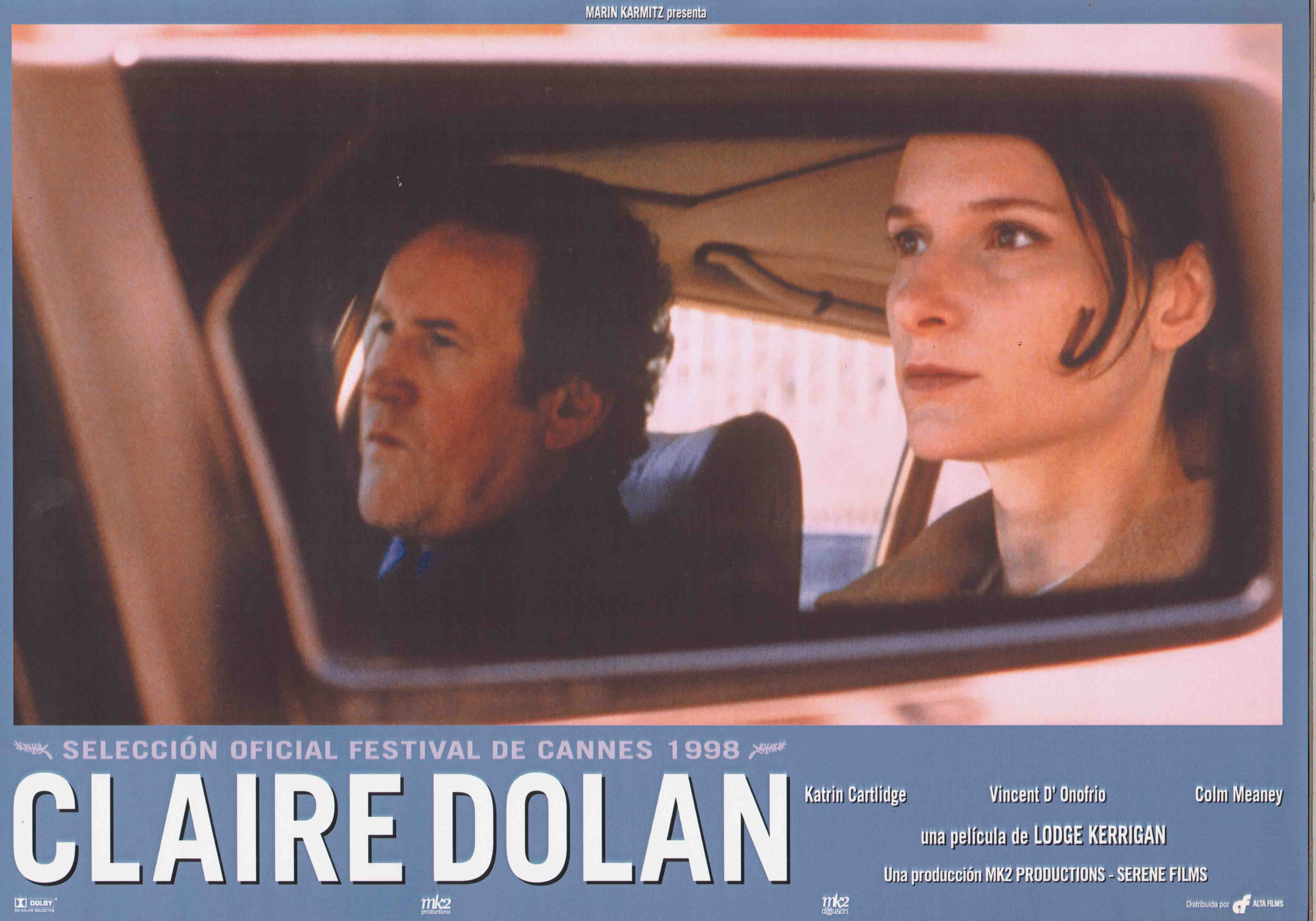 Colm Meaney and Katrin Cartlidge in Claire Dolan (1998)