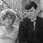 Rainer Werner Fassbinder and Hanna Schygulla in Katzelmacher (1969)