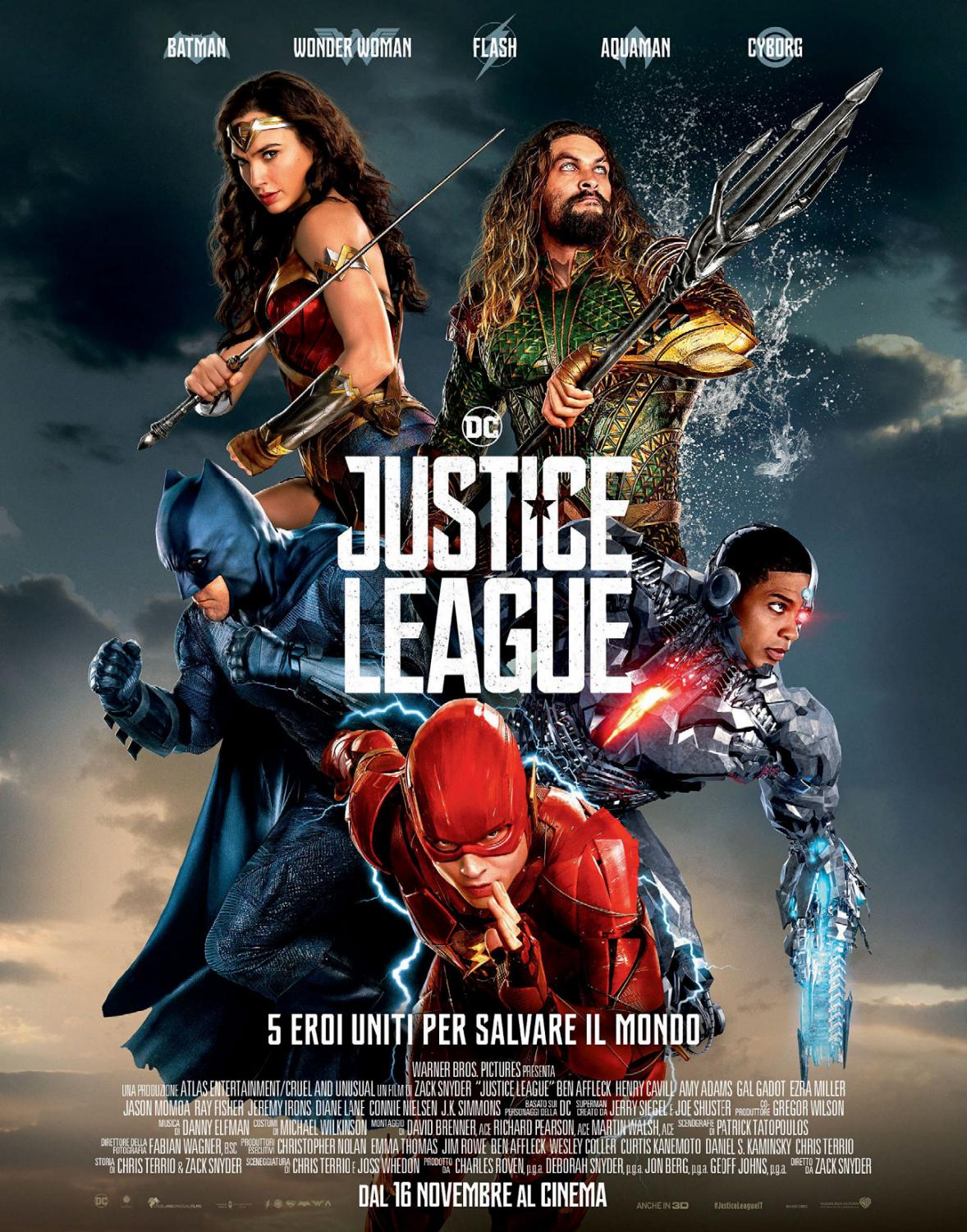 Justice League 2017 Hindi Dual Audio 400MB BluRay ESubs Download