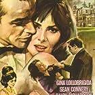 Sean Connery, Gina Lollobrigida, and Ralph Richardson in Woman of Straw (1964)