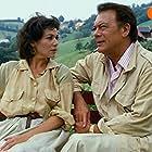 Hannelore Elsner and Klausjürgen Wussow in Die Schwarzwaldklinik (1985)