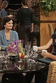 Cristine Rose, Michael Gross, Josh Radnor, and Cobie Smulders in How I Met Your Mother (2005)
