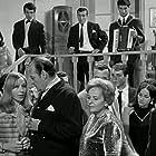 Labros Konstadaras and Aleka Parameritou in Kapetan fandis bastouni (1968)