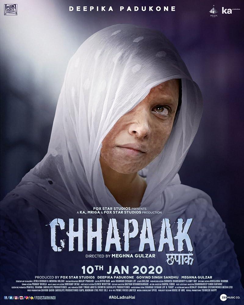 Chhapaak (2020) Hindi 720p PreDVD x264 AAC 1.2GB