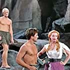 Pat Boone, Arlene Dahl, and Peter Ronson in Journey to the Center of the Earth (1959)