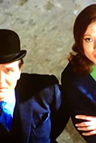Patrick Macnee and Diana Rigg in The Avengers (1961)