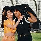 Juhi Chawla and Akshay Kumar in Mr. & Mrs. Khiladi (1997)