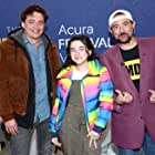 Kevin Smith, Benh Zeitlin, and Devin France at an event for The IMDb Studio at Acura Festival Village (2020)