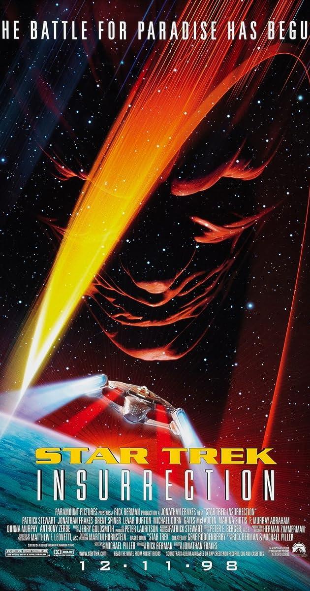Subtitle of Star Trek: Insurrection
