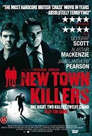 Alastair Mackenzie, Dougray Scott, and James Anthony Pearson in New Town Killers (2008)