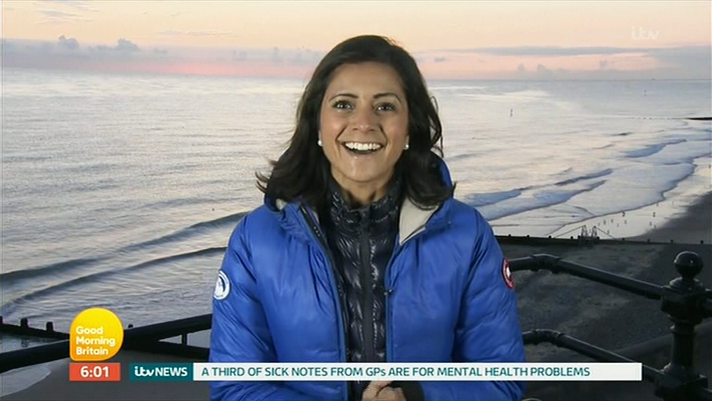 Lucy Verasamy in Good Morning Britain (2014)