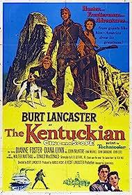 Burt Lancaster, Dianne Foster, and Donald MacDonald in The Kentuckian (1955)