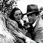 Robert Mitchum and Jane Greer in The Big Steal (1949)