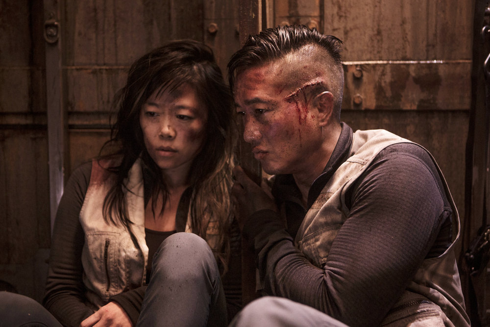Terry Chen and Grace Lynn Kung in The Expanse (2015)