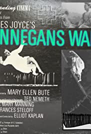 Passages from James Joyce's Finnegans Wake Poster