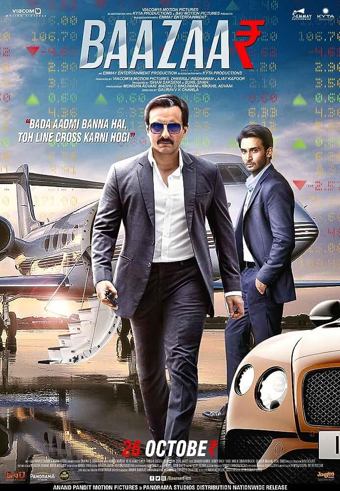 Baazaar   2018   Hindi   1080p   720p   WEB-DL