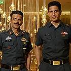 Manoj Bajpayee and Sidharth Malhotra in Aiyaary (2018)
