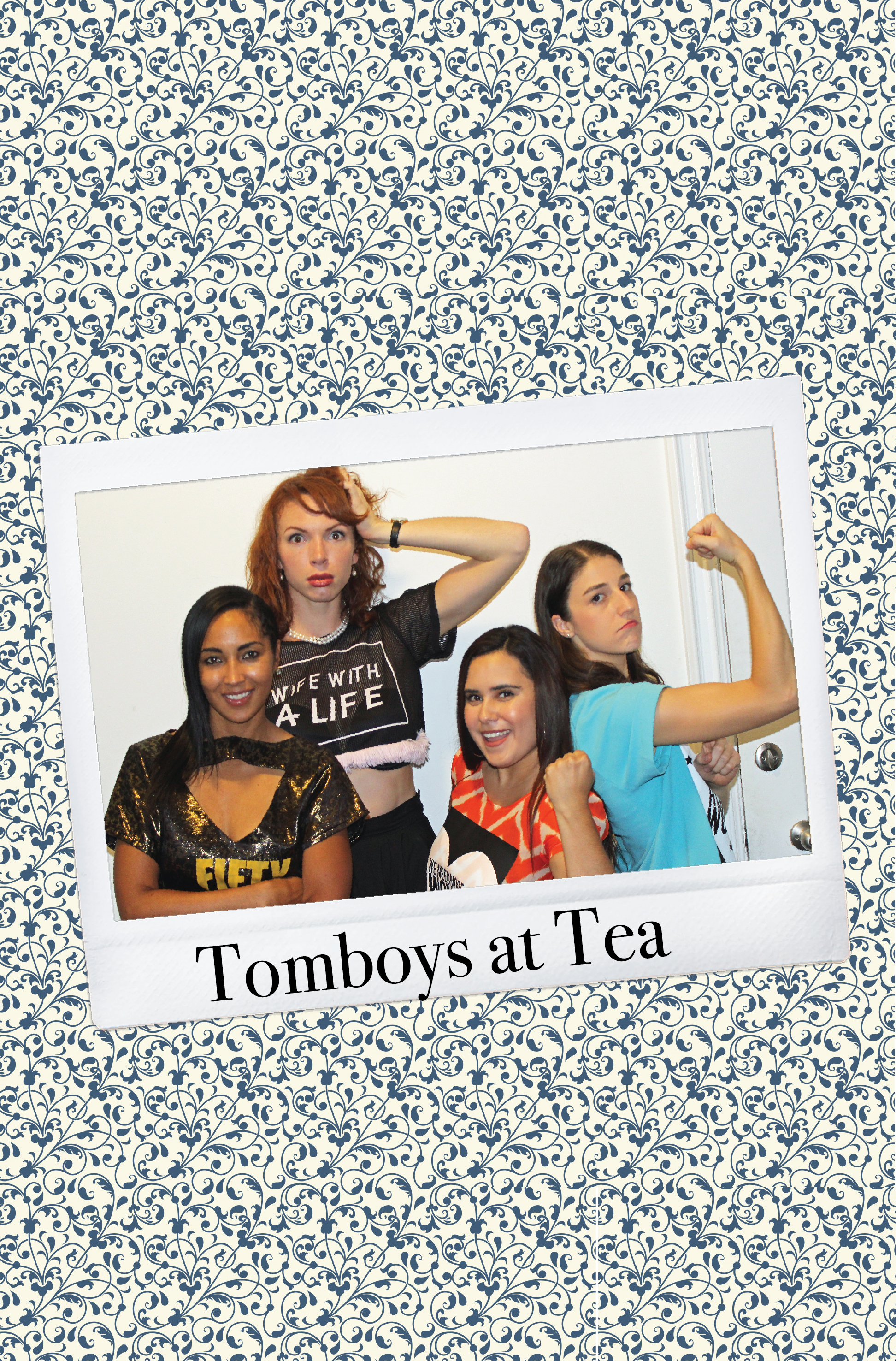 Mary Rachel Gardner, Tammy Brawner, Shannan Scarselletta, and Lily Becerra in Tomboys at Tea (2017)