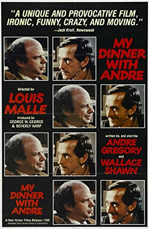 My Dinner with Andre Poster Image
