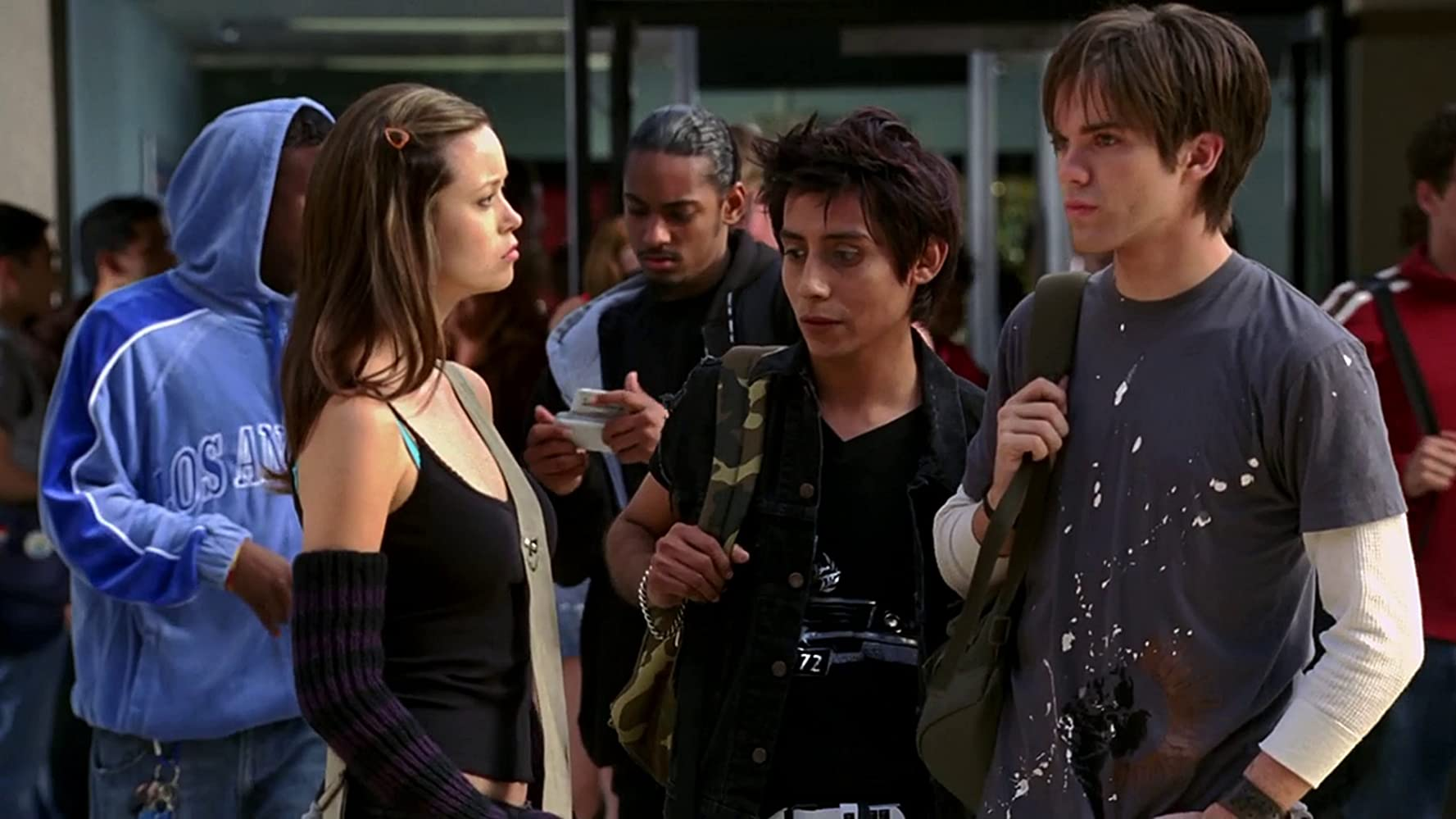 Luis Chávez and Summer Glau in Terminator: The Sarah Connor Chronicles (2008)